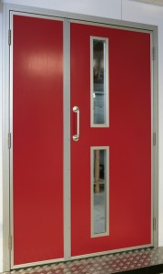 Unequal Personnel Doors