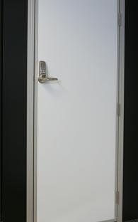 Personnel Door with Code Lock