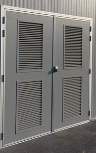 Plant Room Doors