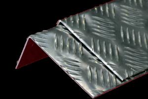 5 bar aluminium (chequer plate)