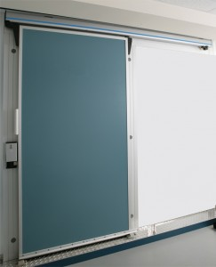 Lightweight Sliding Door with Track