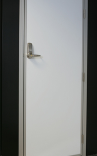 Personnel Door with Code Lock