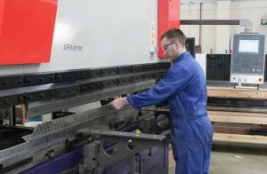 Brake Press - Sheet Metal Fabrication