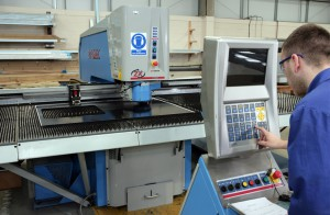CNC Punch Machine - Sheet Metal Fabrication
